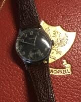 RESERVED A Fine & Rare Original German, Third Reich Issue, 1930's Military Officer's Wrist Watch, A Helma DH, Deutsches Heer